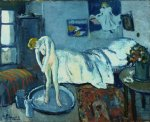 Pablo Picasso The Blue Room (The Tub) 1901 Phillips Coll Washington DC