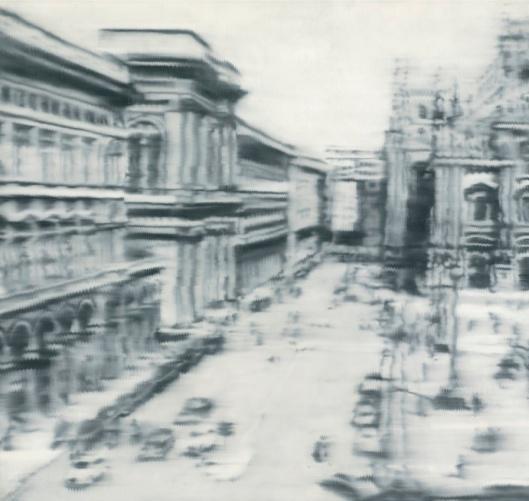 Gerhard Richter Domplatz Mailand 1968 priv