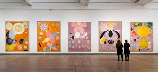 Hilma af Klint Pioneer of Abstraction exhibition Moderna Museet Stockholm