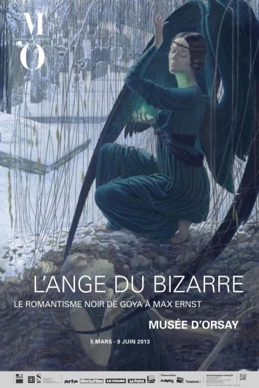 L'ange du bizarre. Le romantisme noir de Goya à Max Ernst poster Paris