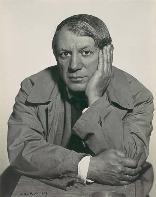 Man Ray Pablo Picasso 1933