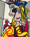 Roy Lichtenstein Woman With Flowered Hat