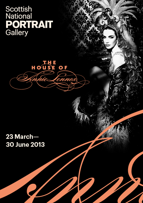 The House of Annie Lennox poster Scottish National Portrait Gallery