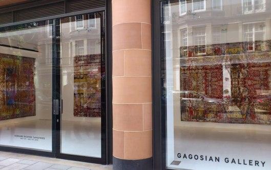 Gagosian Gallery Gerhard Richter Tapestries