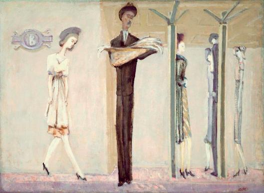 Mark Rothko Underground Fantasy ca 1940 NGA