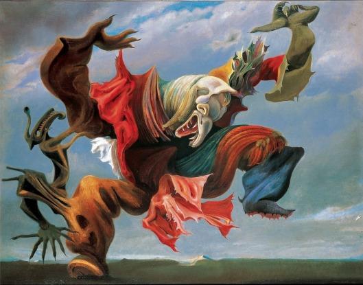 Max Ernst Fireside Angel (Triumph of Surrealism) 1937 priv