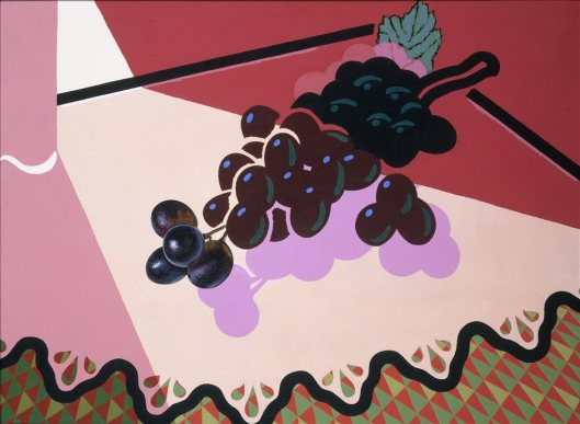 Patrick Caulfield Selected Grapes 1981 British Council Collection