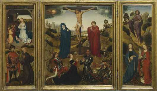 Rogier van der Weyden (workshop) Sforza Triptych after 1444 or ca 1460 Royal Museums of Fine Arts of Belgium Brussels