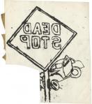 Andy Warhol Dead Stop ca 1954