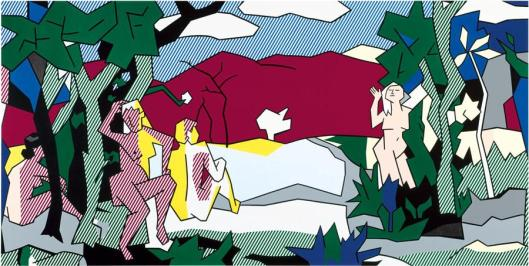 Roy Lichtenstein The White Tree 1980