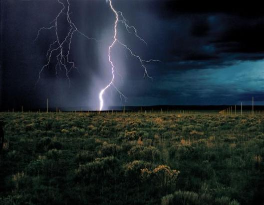 Walter De Maria The Lightning Field 1977
