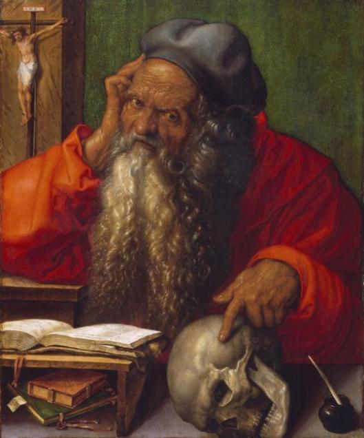 Albrecht Dürer Saint Jerome 1521 Museu Nacional de Arte Antiga Lisbon