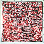 Keith Haring Untitled 1983 priv