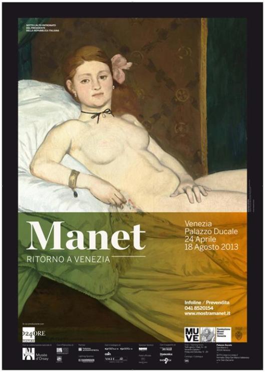 Manet. Ritorno a Venezia poster