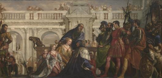 Paolo Veronese The Family of Darius before Alexander 1565 67 NGL