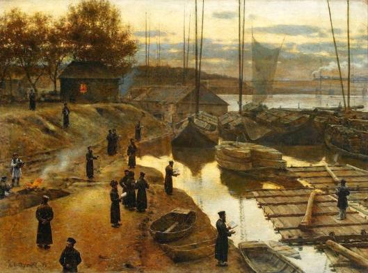 Aleksander Gierymski Swieto Trabek 1884 MNW