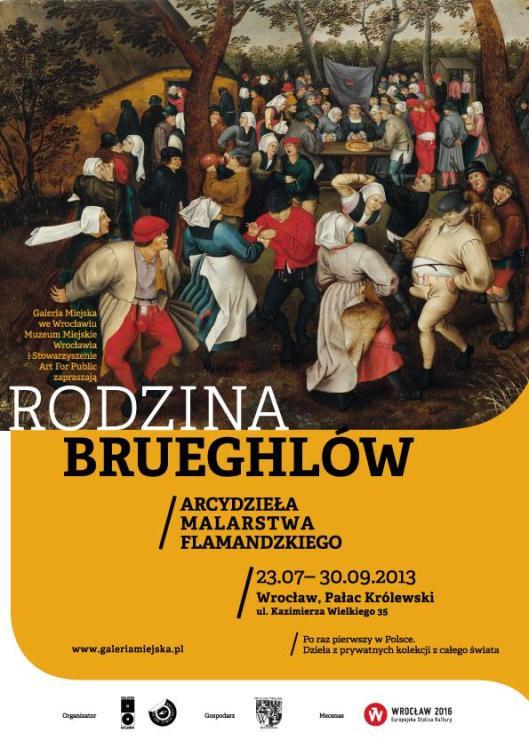 Brueghel Family poster Poland