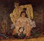 Egon Schiele The Family (Self Portrait) 1918 Belvedere Vienna