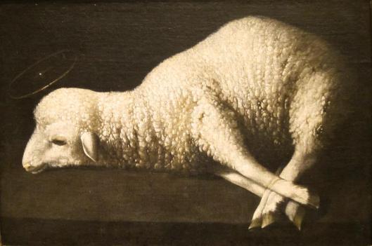 Francisco de Zurbarán Agnus Dei ca 1634 40 San Diego Museum of Art