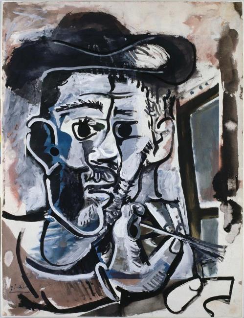 Pablo Picasso Le peintre 1964 Sprengel Museum Hannover