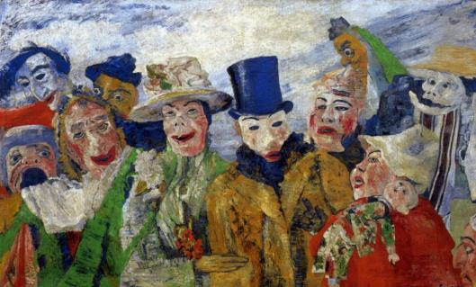James Ensor The Intrigue 1890 KMSKA