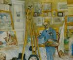 James Ensor The Skeleton Painter 1896 KMSKA