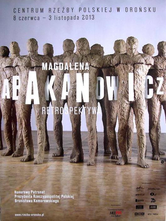 Magdalena Abakanowicz Oronsko poster