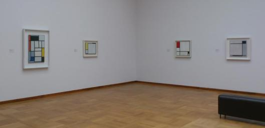 Mondrian Newman Flavin exhibition Kunstmuseum Basel
