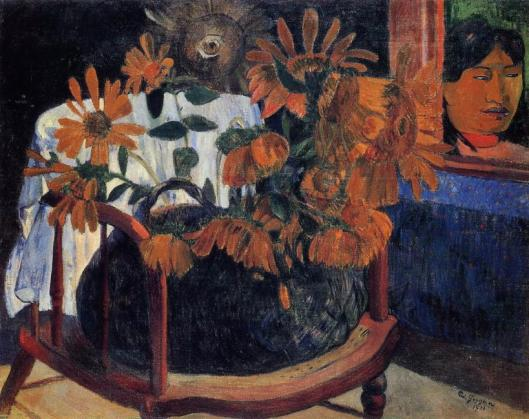 Paul Gauguin Sunflowers 1901 Hermitage St Petersburg