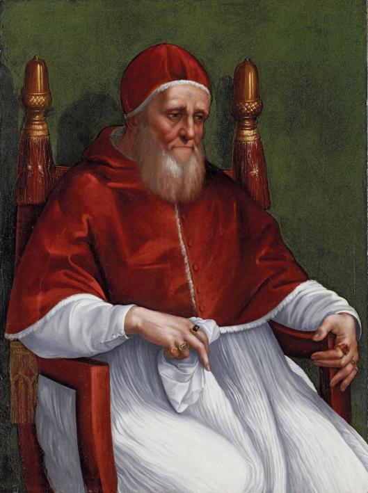 Raffaello Santi and workshop Julius II 1512 13 Städel Frankfurt am Main Rafael