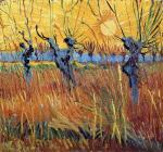 Vincent van Gogh Pollard Willows at Sunset 1888 Kröller‑Müller Museum Otterlo