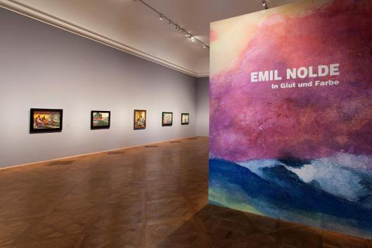 Emil Nolde - In Radiance and Colour exhibition view Vienna