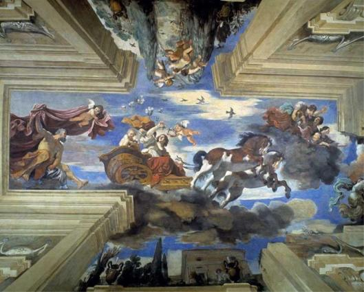 Guercino Aurora 1621 Casino Ludovisi Rome