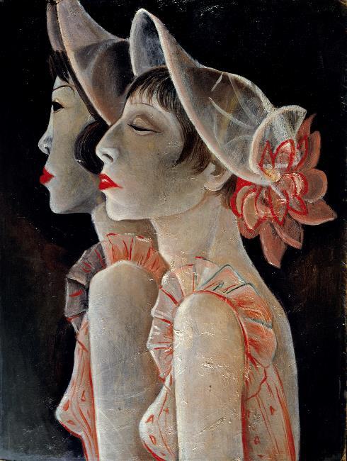 Jeanne Mammen Revuegirls 1928 29 Berlinische Galerie Berlin