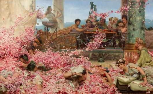 Lawrence Alma-Tadema The Roses of Heliogabalus 1888 Pérez Simón collection Mexico