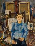 Lilly Steiner Self-Portrait 1937 Belvedere Vienna