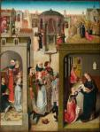 Master of the Legend of St Catherine Scenes from the Legend of St Catherine ca 1480 Royal Museums of Fine Arts of Belgium Brussels