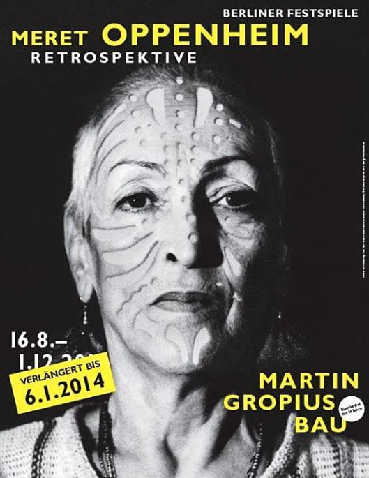 Meret Oppenheim poster Berlin