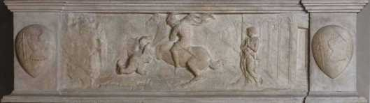 Donatallo St George and the Dragon ca 1417 Museo Nazionale del Bargello Florence