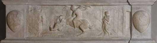 Donatallo St George and the Dragon ca 1417 Museo Nazionale del Bargello Florence