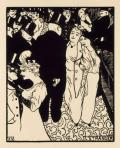 Félix Vallotton L'étranger (The Stranger)1894 woodcut