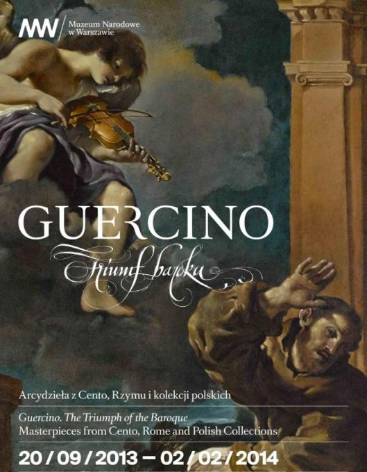 Guercino National Museum in Warsaw exhibition poster