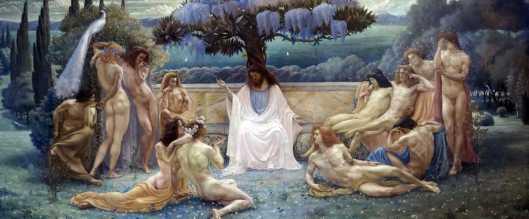 Jean Delville School of Plato 1898 Musée d'Orsay Paris