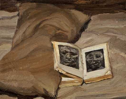 Lucian Freud Still Life with Book 1991 92 priv