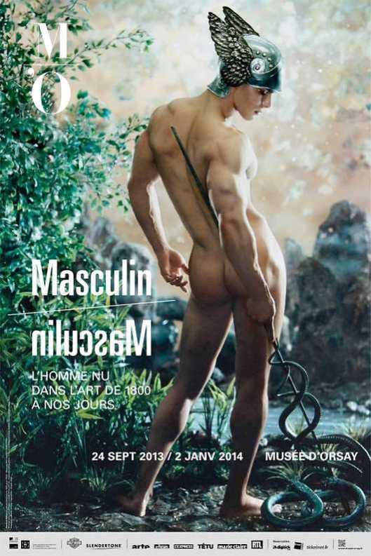 Masculin L'homme nu dans l'art de 1800 à nos jours poster