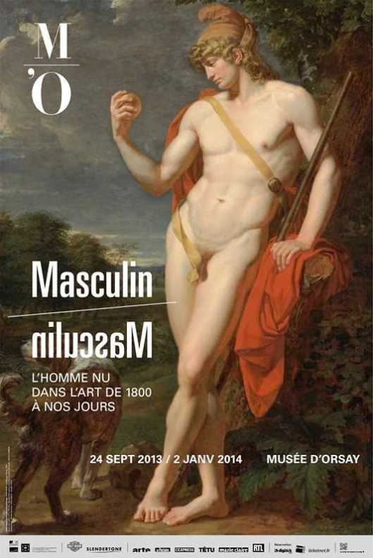 Masculine The Nude Man in Art from 1800 to the Present Day poster