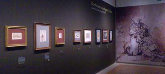 Rembrandt exhibition Teylers Museum drawings