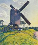 Théo Van Rysselberghe Calf Mill in Knokke (Windmill in Flander) 1894 priv