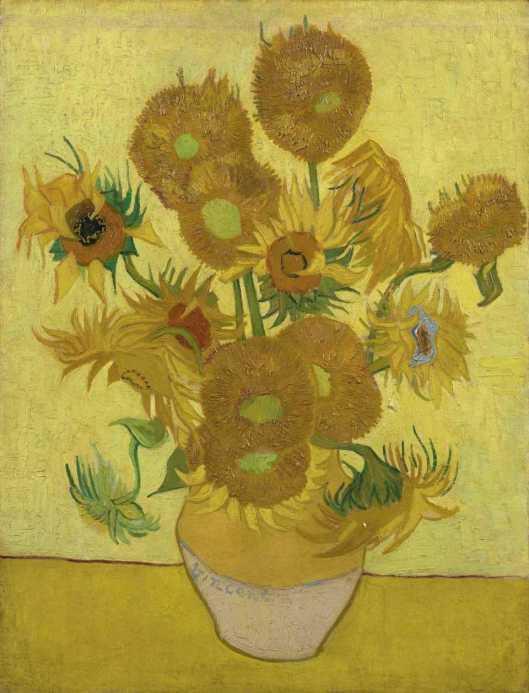 Vincent van Gogh Sunflowers 1889 Van Gogh Museum Amsterdam