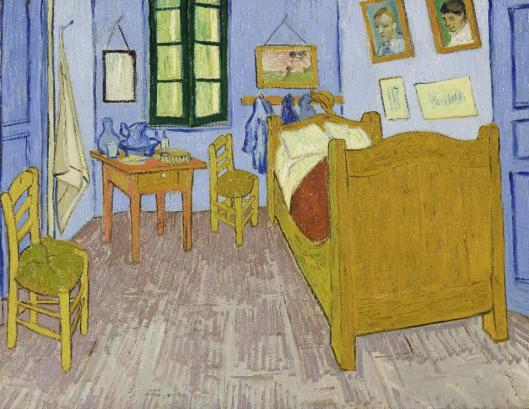 Vincent van Gogh The Bedroom at Arles 1889 Musée d'Orsay Paris